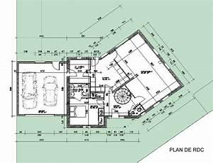 Maison Architecte Plan : plan de maison une maison d 39 architecte abordable dans un lotissement ~ Dode.kayakingforconservation.com Idées de Décoration