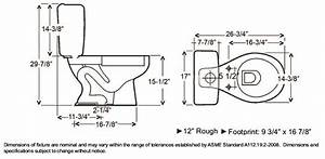 toilet dimensions google search dimensions pinterest With toilet dimensions