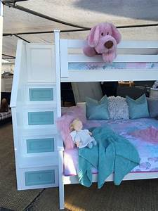 Danielle, Bunk, Bed, With, Stairs