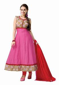 Women Pink Anarkali Salwar Kameez Suit At Rs 1749 Lowest