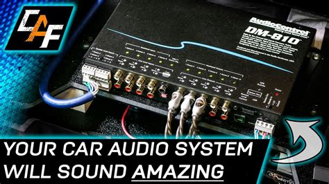 Audiocontrol Dsp Install Overview Youtube