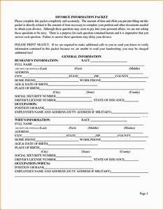 7 texas divorce papers divorce document With texas divorce documents