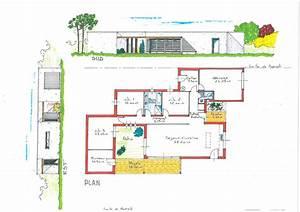 plan maison ecologique medium constructeur maison bois With plan de maison ecologique gratuit