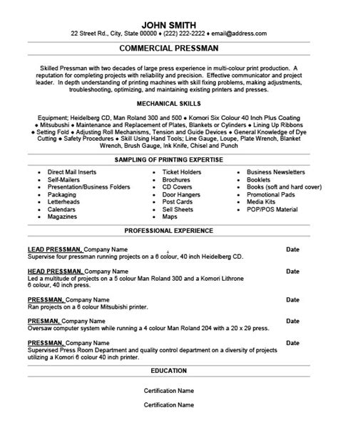 Commercial Diving Resume Examples