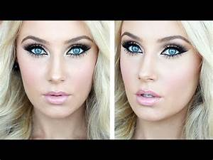 Prom Makeup Tutorial (mainly drugstore) - YouTube