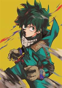 deku his quirk is called one for all and unlike the
