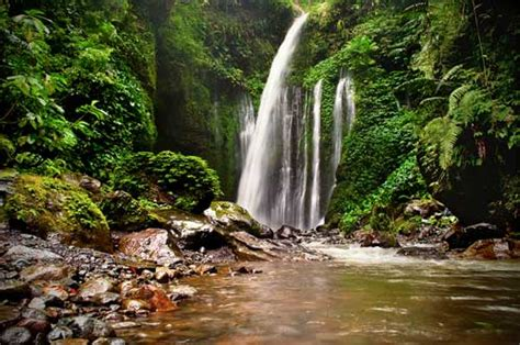 Sendang Gile And Tiu Kelep Lombok Waterfall Lombok