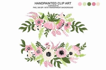 Watercolor Flower Floral Clipart Flowers Digital Clip
