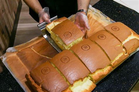 le castella famous japanese jiggly sponge cake