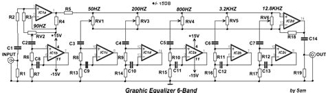 Band Graphic Equalizer Circuit Diagram Instructions