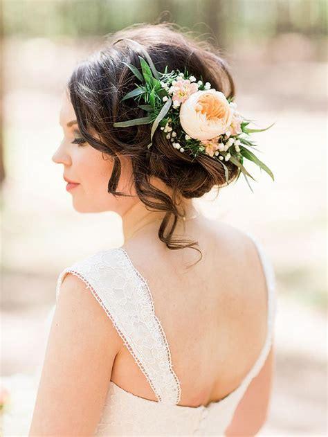 bridal hair flowers images  pinterest