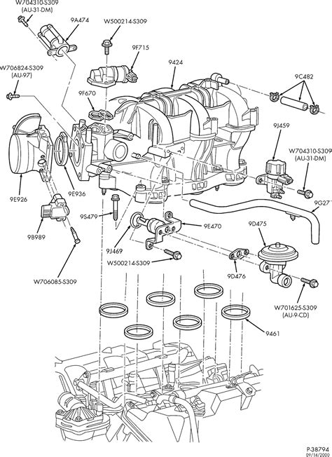 Ford Ranger 4 0 Sohc Engine Diagram by 03 Ranger With 4 0 Just Replaced Engine Has A Miss