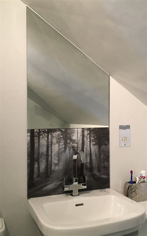 Badewannen Spritzschutz Glas by Printed Glass Kitchen Splashback Printed Glass Bathroom