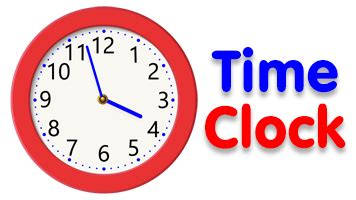 Time Clock • Free Online Games at PrimaryGames
