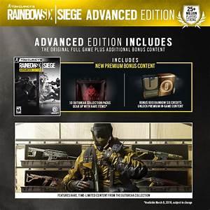 Buy Tom Clancys Rainbow Six Siege Advanced Edition For