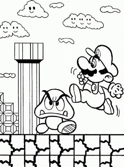 Coloring Pages Games Why Super Mario Famous