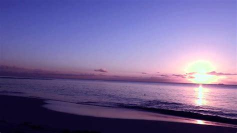 #3783 Sol en el horizonte en la playa Efecto Paisajes