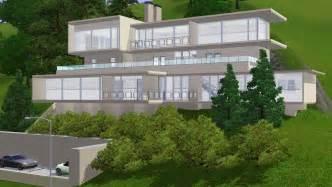 hillside home designs small modern hillside house plans with attractive design modern house design
