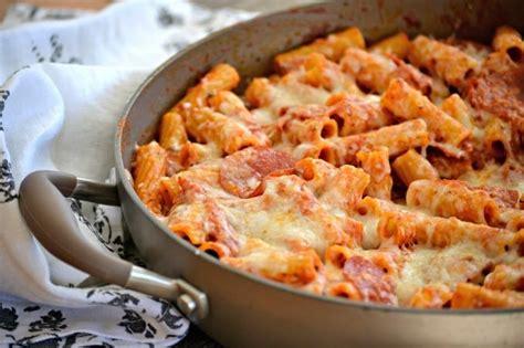 pepperoni pizza pasta  days  baking
