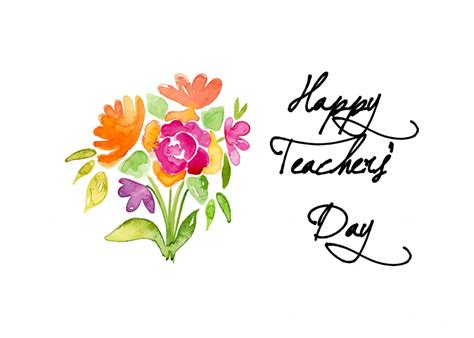Happy Teacher's Day  September 5, 2018  Happy Days 365