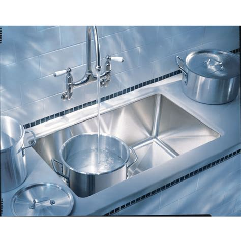 franke undermount sink franke professional stainless steel single bowl undermount