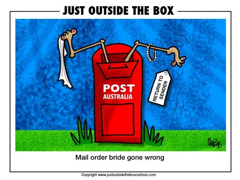 Just Outside The Box Cartoon
