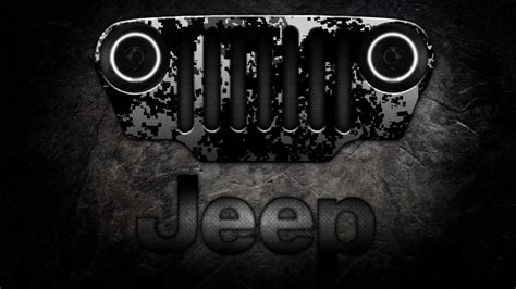 Jeep Grill Wallpaper jeep logo wallpapers wallpaper cave
