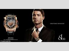 The Watches of Cristiano Ronaldo And Lionel Messi