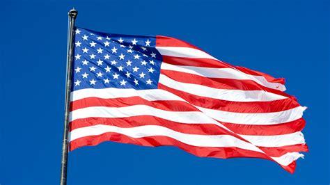 la bandera de estados unidos  importante simbolo  el pais