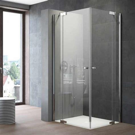 Duschkabine schiebetür dusche schwarz duschwand nano glas. Duschkabine Eckeinstieg Eckeinbau Glas kaufen - Galana | Spiegel21