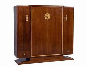 Armoire Art Deco : french art deco rosewood armoire for sale at 1stdibs ~ Melissatoandfro.com Idées de Décoration