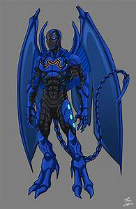 The gallery for --> Young Justice Blue Beetle Scarab