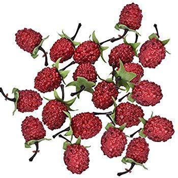 raspberry kitchen accessories 20 pcs artificial raspberry craft fruit 1722