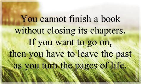 Closing Chapter In Life Quotes