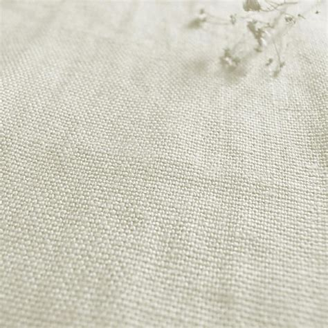 linen upholstery fabric greta oyster plain linen fabric