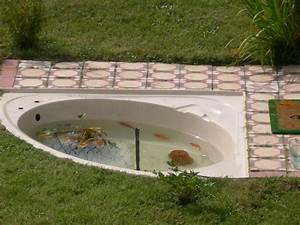 plante filtrante pour bassin poisson befrdesignco With porte d entrée pvc avec luminaire salle de bain avec prise intégrée