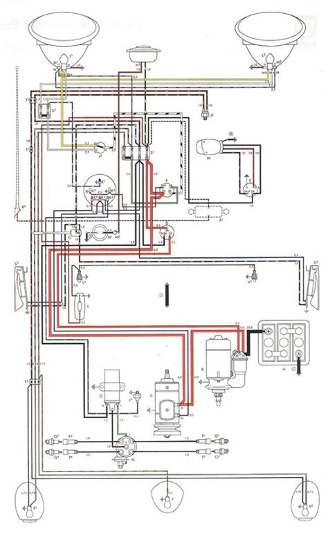 Bmw 1200 G Wiring Diagram by Vw Beetle 1200 Schema Electrica Wiring Diagrams Cars