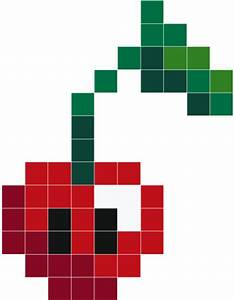 Pixel Art Voiture Facile : kawaii cherry stickers muraux stickaz ~ Maxctalentgroup.com Avis de Voitures