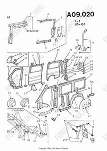 Ford Transit Mkiii  1985-1991  Parts List  A9 20