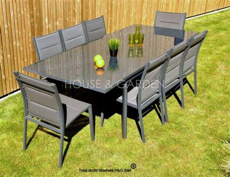 salon de jardin aluminium pas cher table jardin aluminium pas cher bricolage maison et d 233 coration
