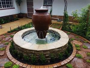 Johannesburg, Garden, Water, Features