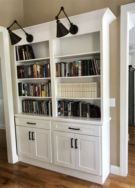 A wide variety of black shaker kitchen cabinets options are available to you, such as project solution capability, style, and warranty. Built-in bookshelf with white shaker cabinets and black ...