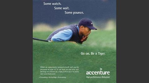 Accenture abandons its sponsorship of golfer Tiger Woods ...