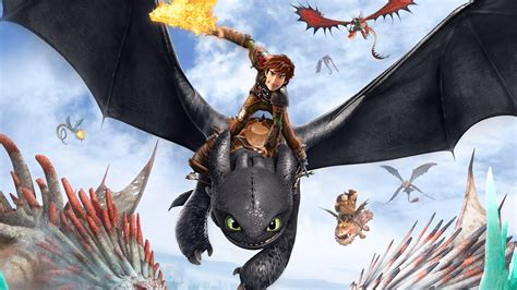 train  dragon  poster wallpapers hd
