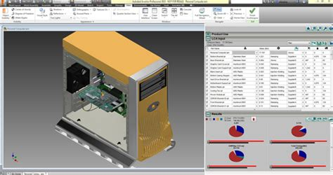 EcoDesigner, Now Available for Autodesk Inventor - Virtual ...