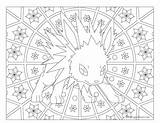 Pokemon Coloring Jolteon Adult Mandala Windingpathsart Mandalas Pikachu Gx Alakazam Mega Coloriage Colorear Ninetales Printable Vaporeon Getcolorings Clay Visit Tareitas sketch template