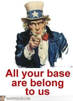 All Your Base Are Belong To Us Meme - all your base are belong to us on pinterest joseph ducreux english