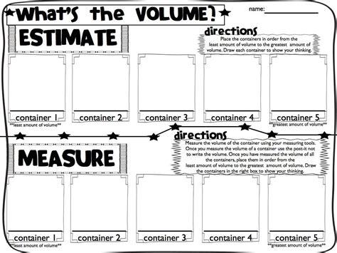 volume and capacity worksheet year 1 free printables