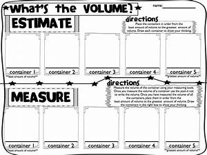 Sweet Seconds: Volume, Measurement, Capacity, Time | For ...  Volume