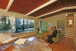 tri level house plans 1970s staging a mid century modern house the don draper way hooked on houses
